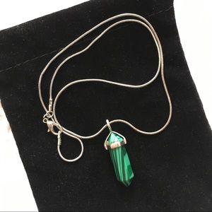 Malachite 🐢 Necklace Charm